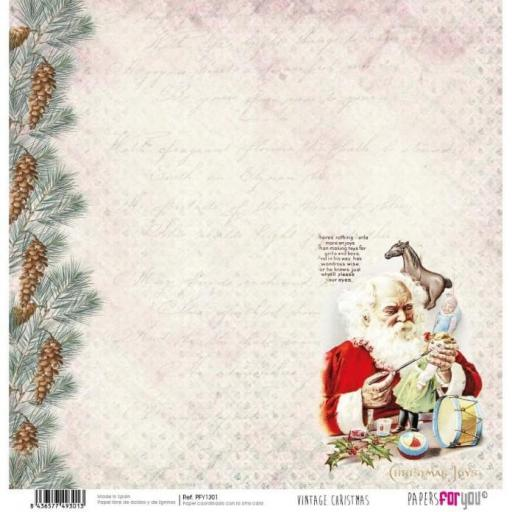 SET DE PAPELES VINTAGE CHRISTMAS TIME PAPERS FOR YOU [3]