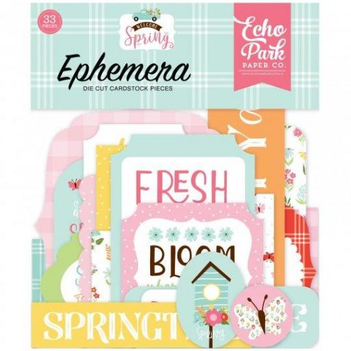 EPHEMERA WELCOME SPRING  ECHO PARK