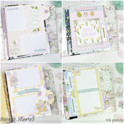 FLIPBOOK ALBUM SN@P! BLACK BUFFALO CHECK SIMPLE STORIES 15X20CM [3]