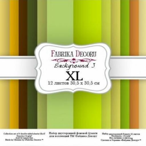 SET DE PAPELES BACKGROUNDS 3 XL FABRIKA DECORU