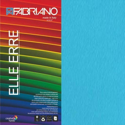 CARTULINA O CARDSTOCK TEXTURIZADA LISO/RUGOSO CIELO FABRIANO