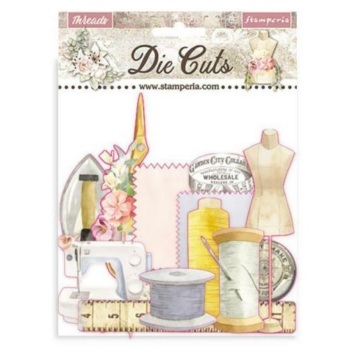 DIE CUTS THREADS STAMPERIA