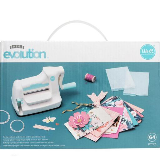 MINI EVOLUTION ADVANCED CON KIT DE INICIO WE R MEMORY KEEPERS