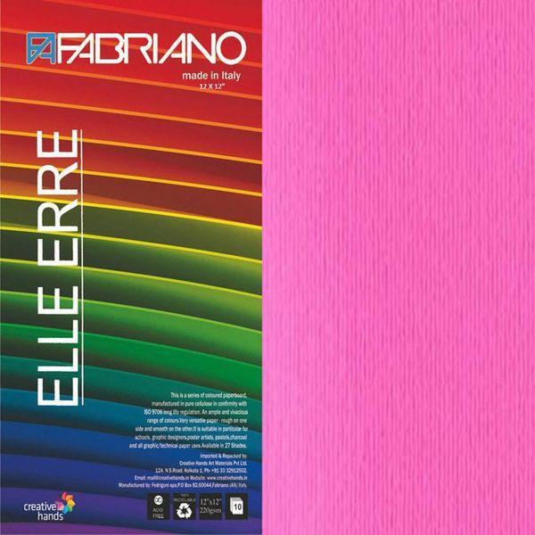 CARTULINA O CARDSTOCK TEXTURIZADA LISO/RUGOSO FUCSIA FABRIANO
