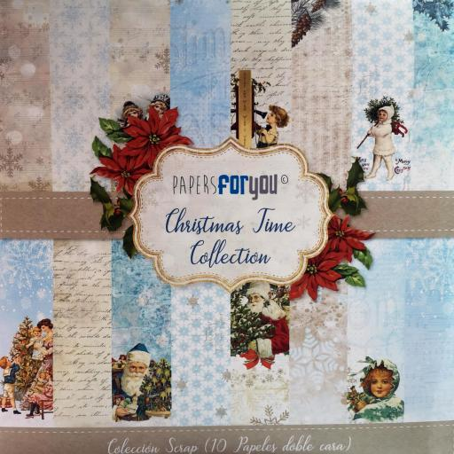 SET DE PAPELES CHRISTMAS TIME PAPERS FOR YOU