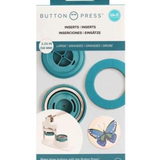 INSERTOS GRANDES BUTTON PRESS WE R MEMORY KEEPERS