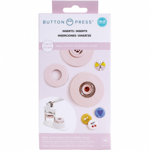 INSERTOS PEQUEÑOS BUTTON PRESS WE R MEMORY KEEPERS