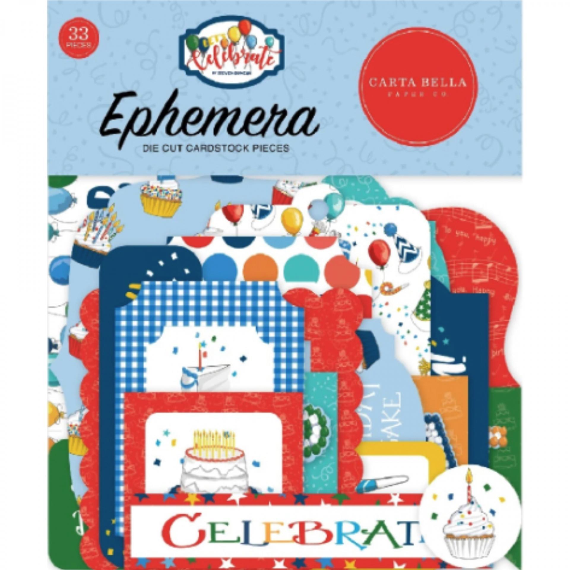EPHEMERA LET´S CELEBRATE CARTA BELLA