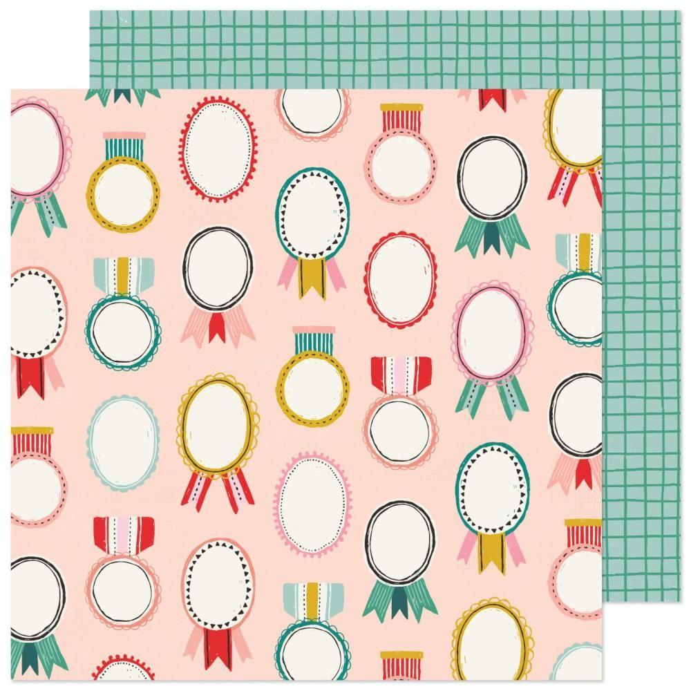 PAPEL MERRY & BRIGHT HEY SANTA CRATE PAPER