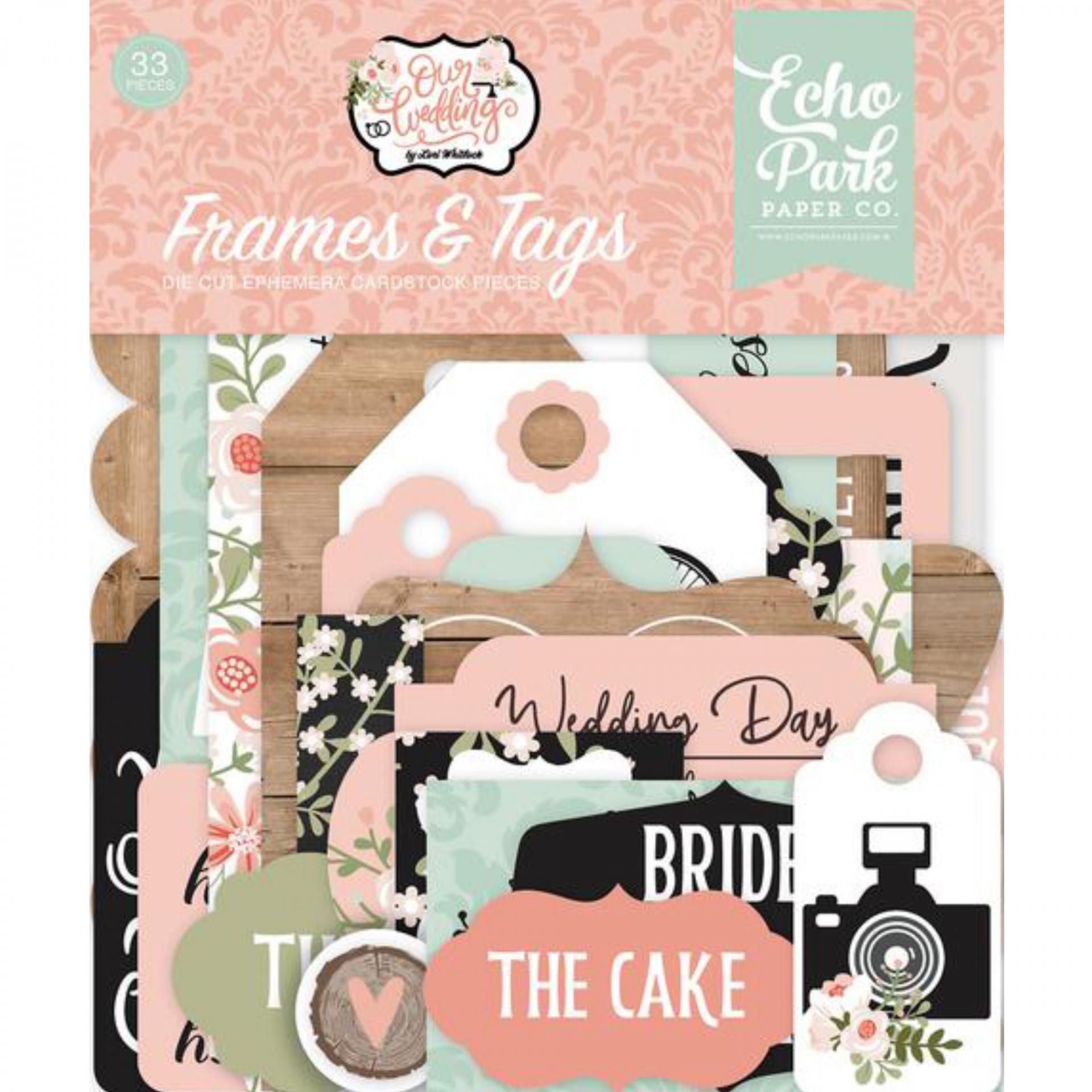 FRAMES & TAGS OUR WEDDING ECHO PARK
