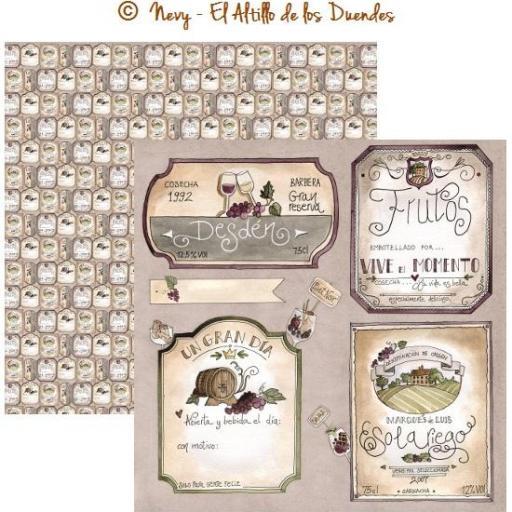 PAPEL OFELIA ENTRE FOGONES 010 EL ALTILLO DE LOS DUENDES