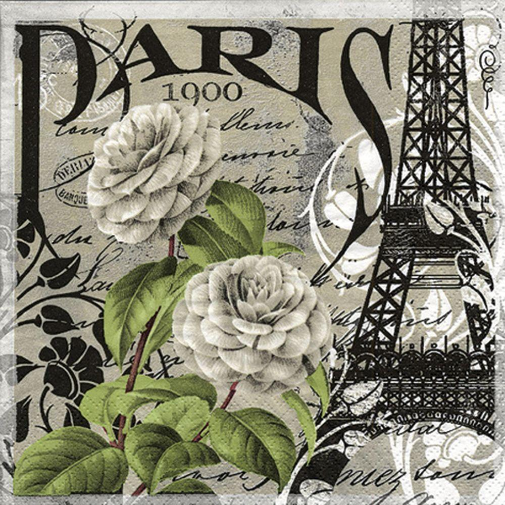 SERVILLETA PARIS 1900 TI FLAIR
