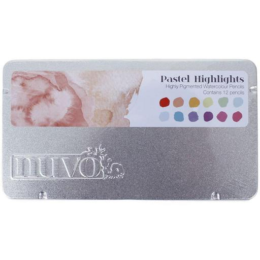 LAPICES ACUARELABLES NUVO PASTEL HIGHLIGHTS TONIC