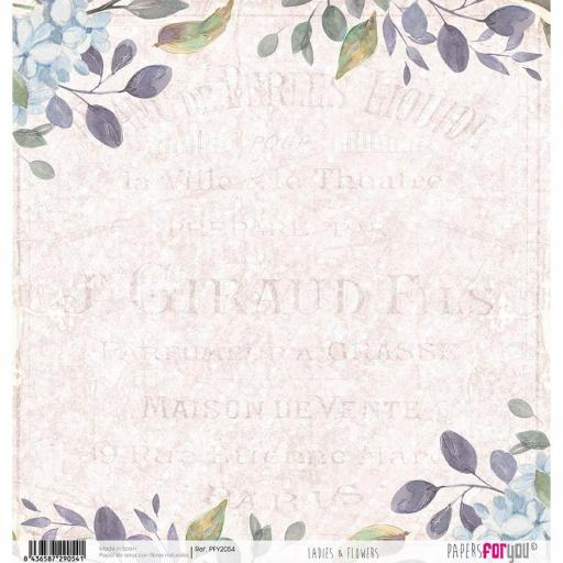 PAPEL DE ARROZ LADIES & FLOWERS PAPERS FOR YOU