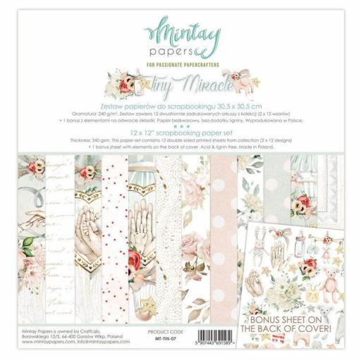 SET DE PAPELES TINY MIRACLE MINTAY PAPERS