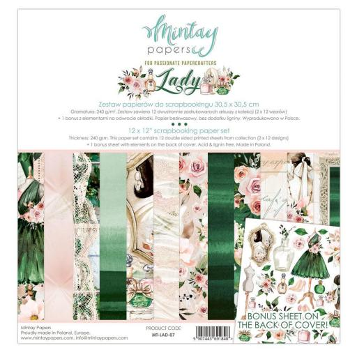 SET DE PAPELES LADY MINTAY PAPERS