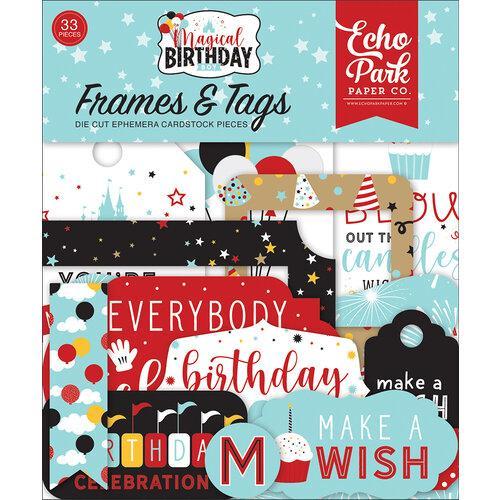FRAMES & TAGS MAGICAL BIRTHDAY BOY ECHO PARK