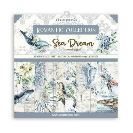 SET DE PAPELES ROMANTIC COLLECTION SEA DREAM STAMPERIA