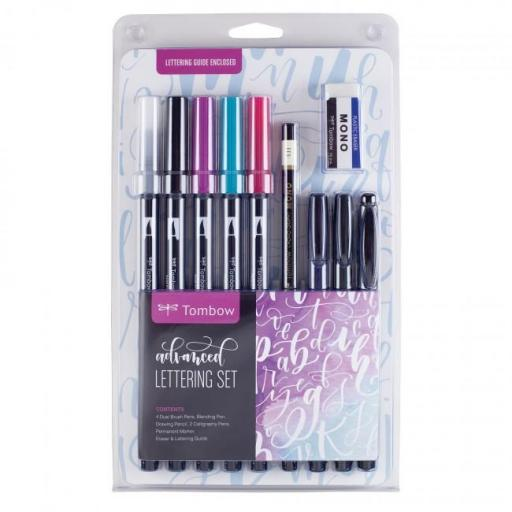 SET LETTERING ADVANCED TOMBOW