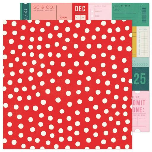 PAPEL VERY MERRY HEY SANTA CRATE PAPER