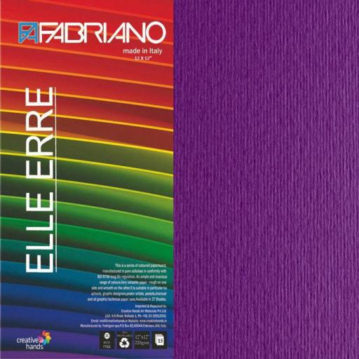 CARTULINA O CARDSTOCK TEXTURIZADA LISO/RUGOSO VIOLA FABRIANO