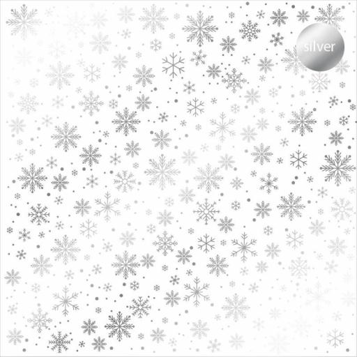 ACETATO FOIL SNOWFLAKES KORA PROJECTS