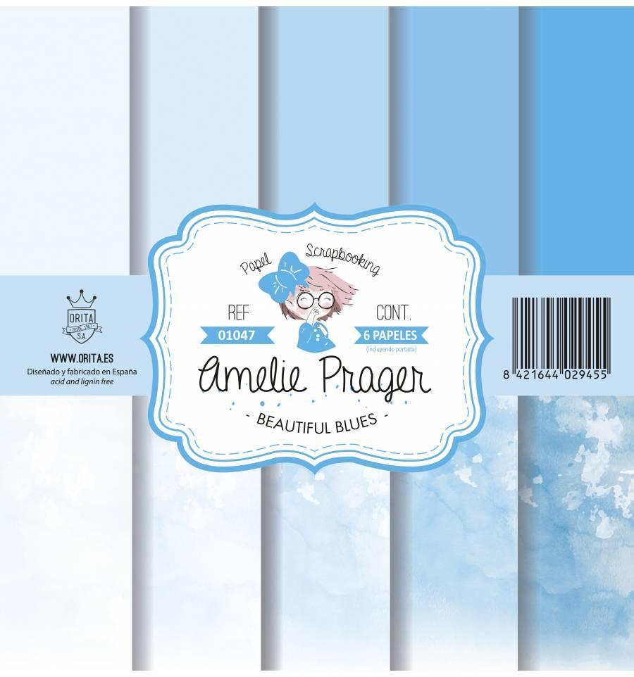SET DE PAPELES BEAUTIFUL BLUES AMELIE