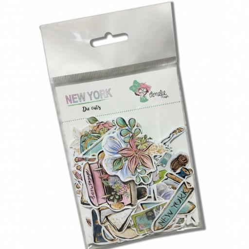 SET DIE CUTS COLECCION NEW YORK AMELIE PRAGER