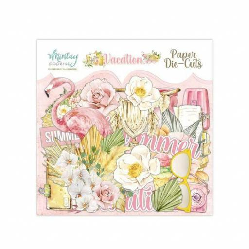 DIE CUTS VACATION MINTAY PAPERS