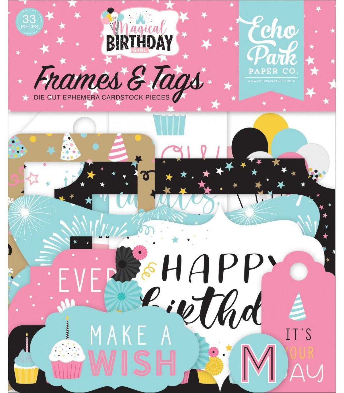 FRAMES & TAGS MAGICAL BIRTHDAY GIRL ECHO PARK