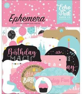 EPHEMERA MAGICAL BIRTHDAY GIRL ECHO PARK