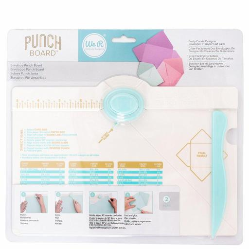 ENVELOPE PUNCH BOARD PARA CREAR SOBRES WE R MEMORY KEEPERS