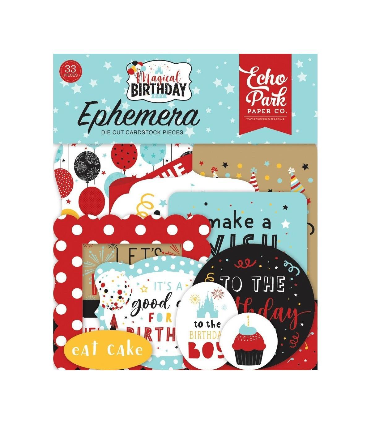 EPHEMERA MAGICAL BIRTHDAY BOY ECHO PARK