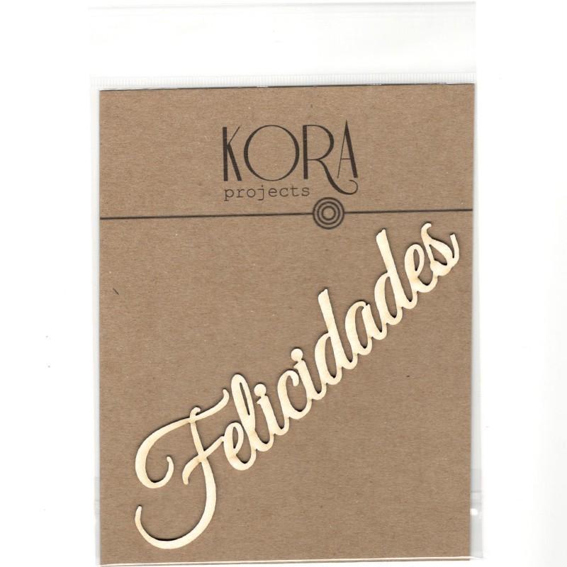 MADERITAS PALABRA FELICIDADES KORA PROJECTS