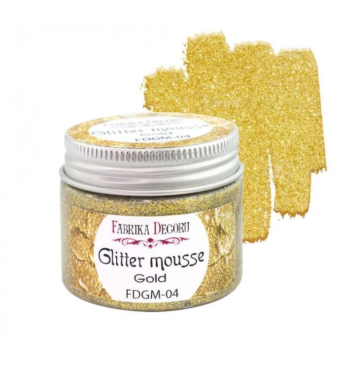 GLITTER MOUSSE GOLD FABRIKA DECORU