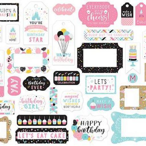 FRAMES & TAGS MAGICAL BIRTHDAY GIRL ECHO PARK [1]