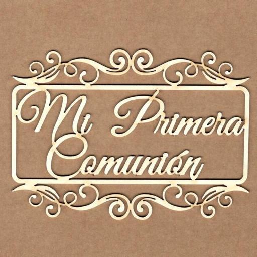 MADERITAS MI PRIMERA COMUNION EN MARCO RECTANGULAR KORA PROJECTS [1]