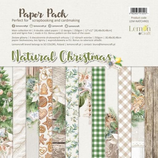 SET DE PAPELES NATURAL CHRISTMAS LEMONCRAFT
