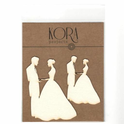 MADERITAS SILUETAS NOVIOS KORA PROJECTS