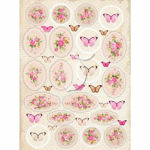 PAPEL VINTAGE TIME 029 SWEET SECRETS LEMONCRAFT