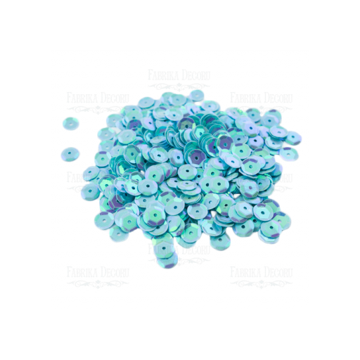 PACK LENTEJUELAS IRIDISCENT LIGHT BLUE FABRIKA DECORU [1]