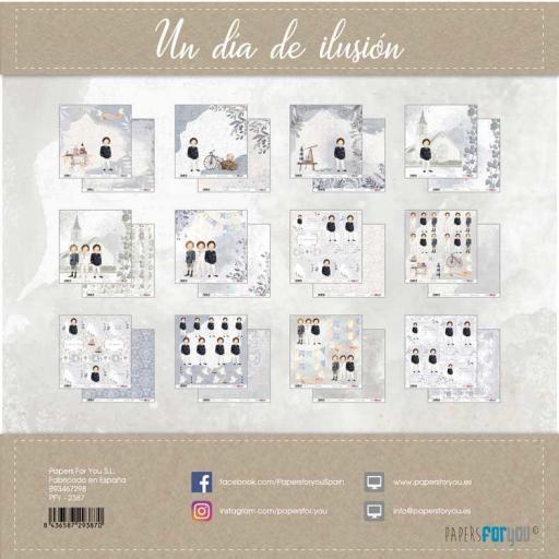 SET DE PAPELES UN DIA DE ILUSION NIÑO MORENO PAPERS FOR YOU [1]