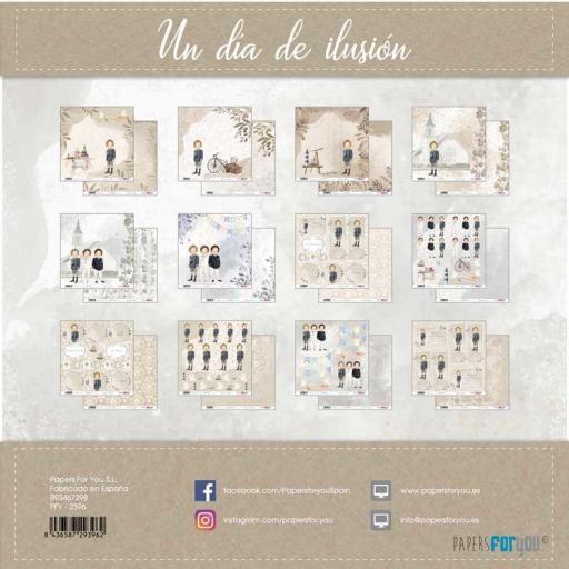 SET DE PAPELES UN DIA DE ILUSION NIÑO RUBIO PAPERS FOR YOU [1]