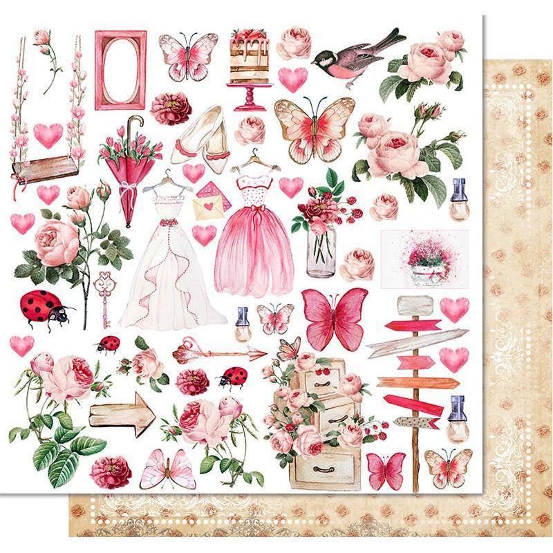 PAPEL PRINCESS GARDEN SOUL OF FLOWERS KORA PROJECTS
