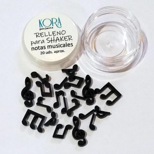 RELLENO PARA SHAKER NOTAS MUSICALES KORA PROJECTS