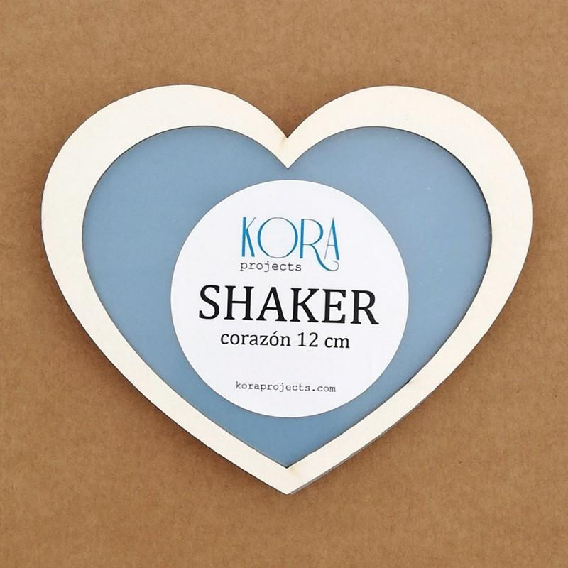 SHAKER CORAZON 12 CM KORA PROJECTS