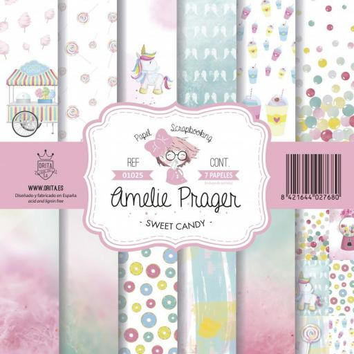 SET DE PAPELES SWEET CANDY AMELIE