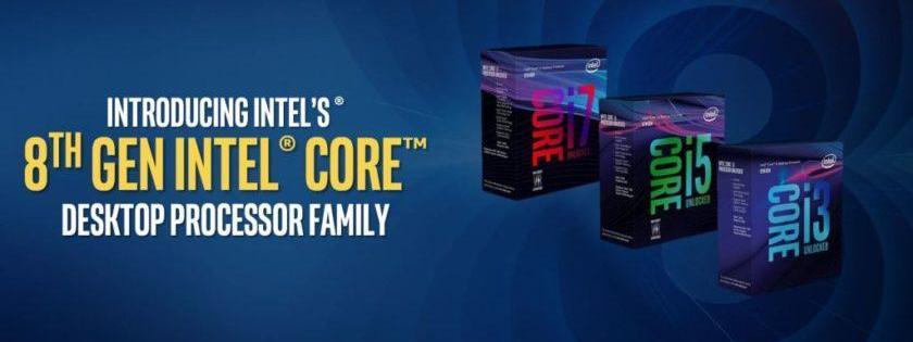 Prueba de rendimiento de los Core i5-8400, Core i5-8500 y Core i5-8600