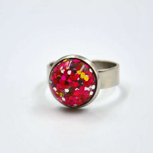 Anillo Party Fucsia