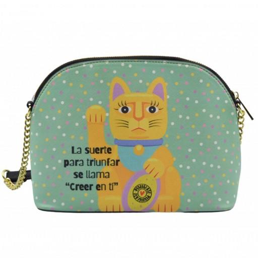 Bolso Bandolera Lucky Cat